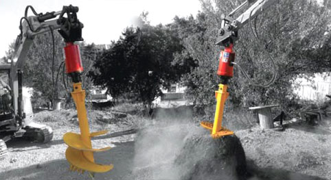 Hydraulic Augers Work